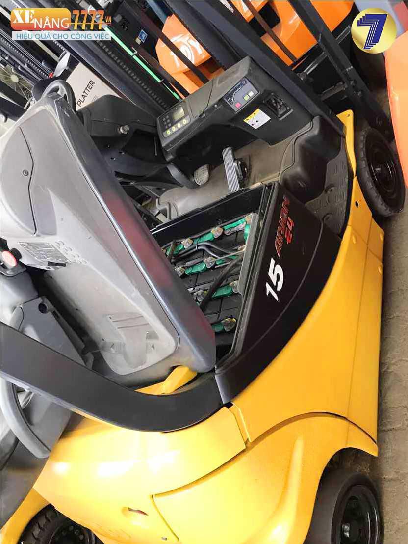 xe nâng điện ngồi lái komatsu FB15-12