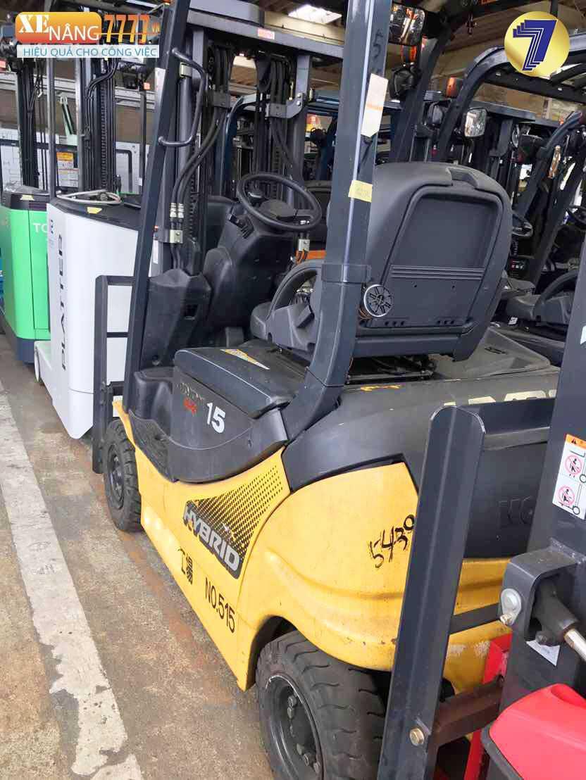 Xe nâng điện ngồi lái Komatsu FB15HB-12,