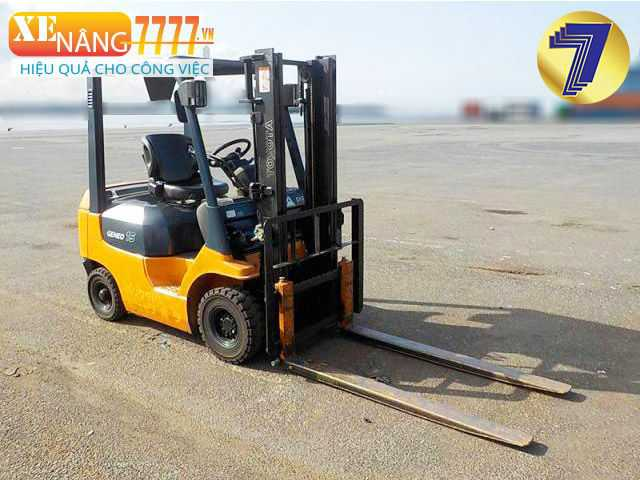 xe nâng dầu 8FD15 1.5 tấn, xe nâng dầu qua sử dụng giá tốt.