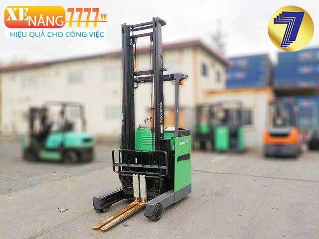 xe nâng điện đứng 1.5 tấn, Chiều cao nâng 3m, 4m, 5m, 6m, Xe nâng chui container