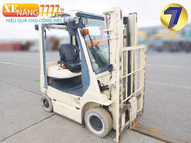 xe nâng điện 1.5 tấn, xe nâng điện chui container.
