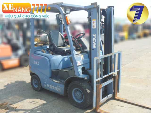 xe nâng xang ga 1500kg, Chiều cao nâng 3m, 4m, 5m, 6m, Xe nâng chui container